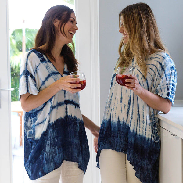 Indigo Garden Lightweight Top Collection