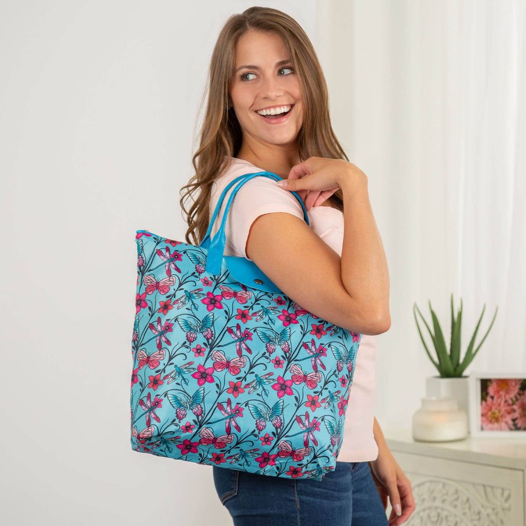 Promo - PROMO - Fluttering Friends Packable Tote