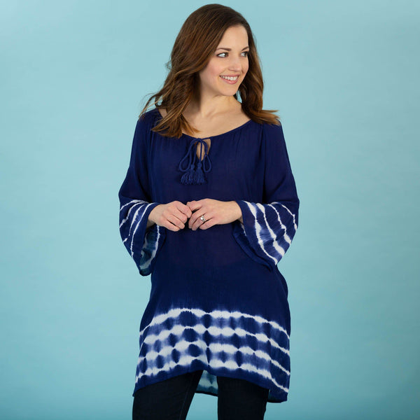 High Tide Cold Shoulder Tunic