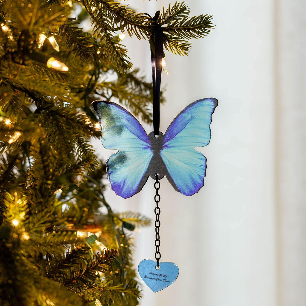 Prayers & Blessings Butterfly Ornament