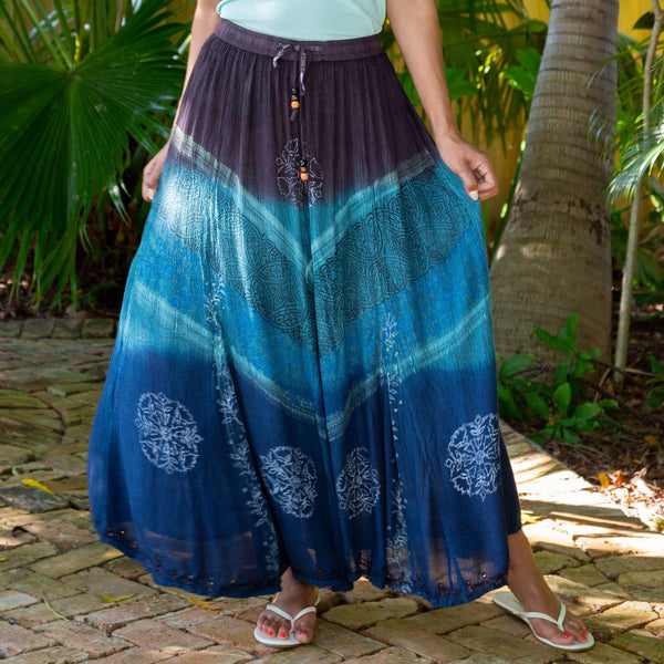 Earth & Sky Maxi Skirt