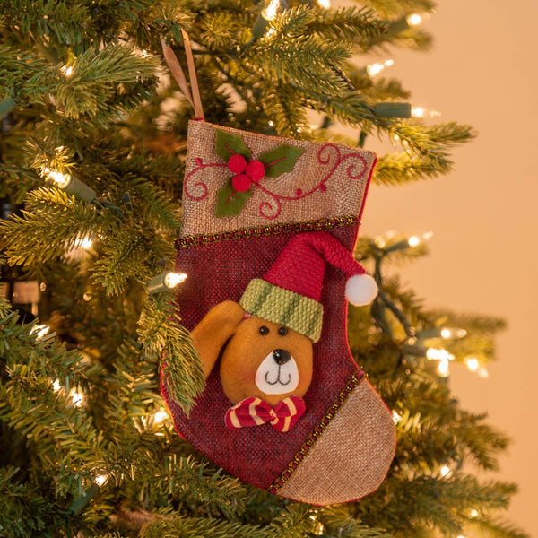 Santa Pet Stocking Ornament