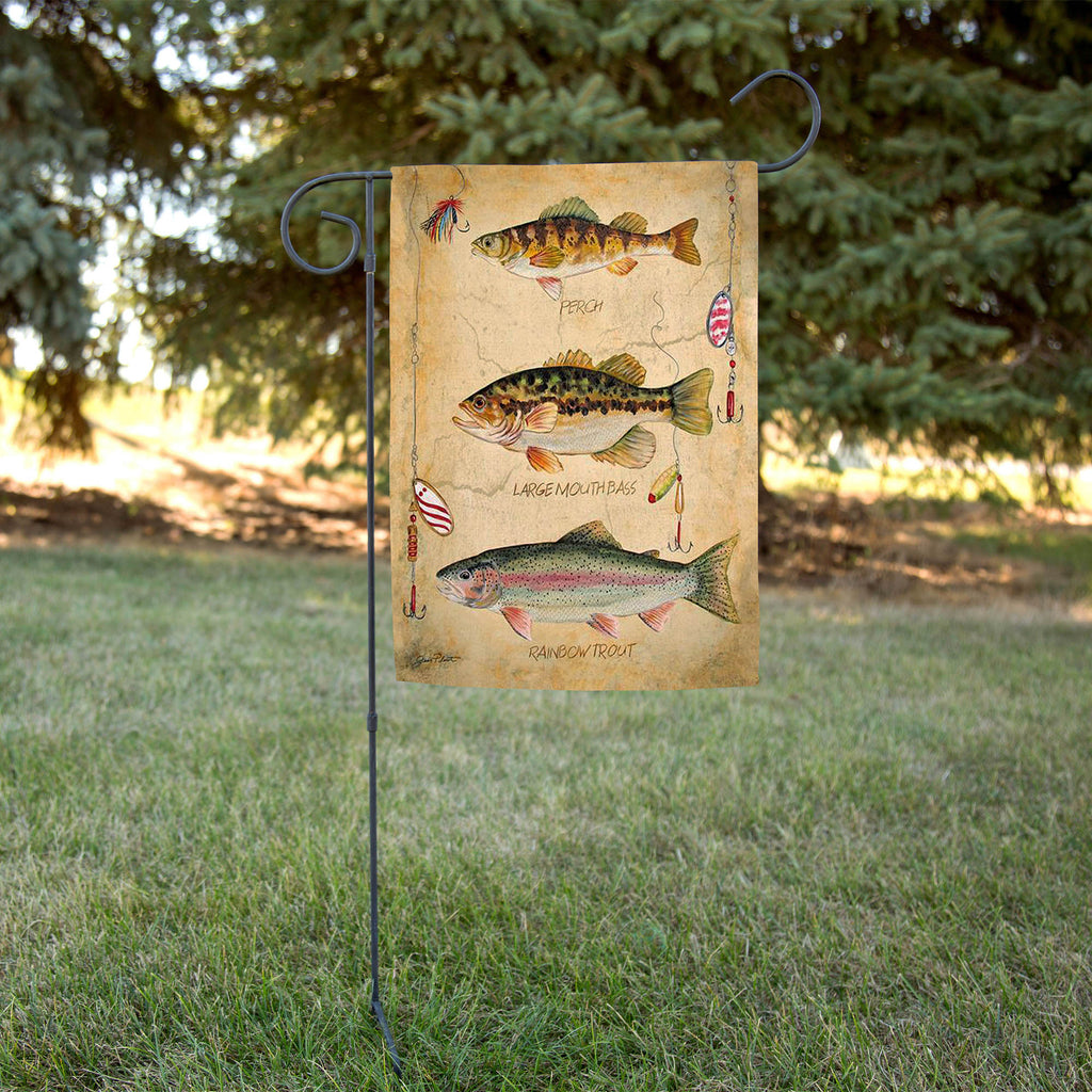 Fresh Fish Garden Flag
