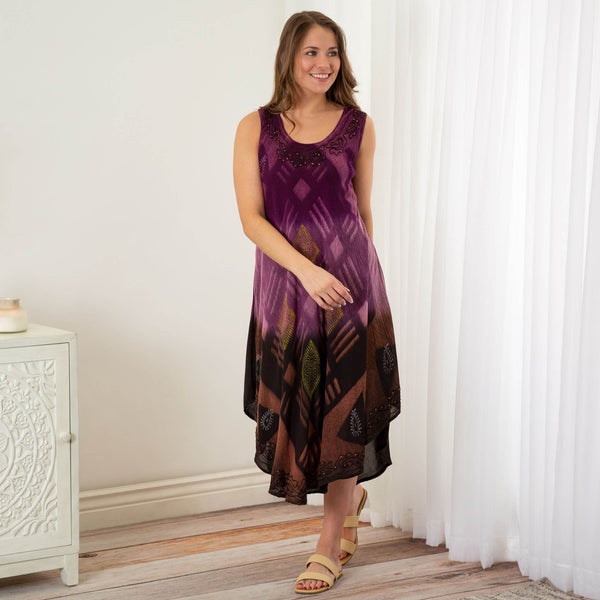 Amethyst Night Sleeveless Dress