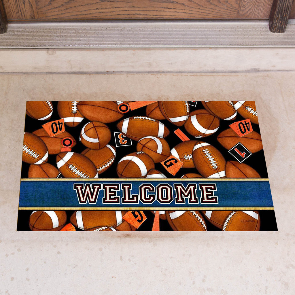 Game Day Door Mat