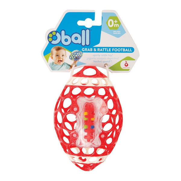 Oball™ Grab & Rattle Football