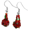 Nepali Bead Ball Earrings