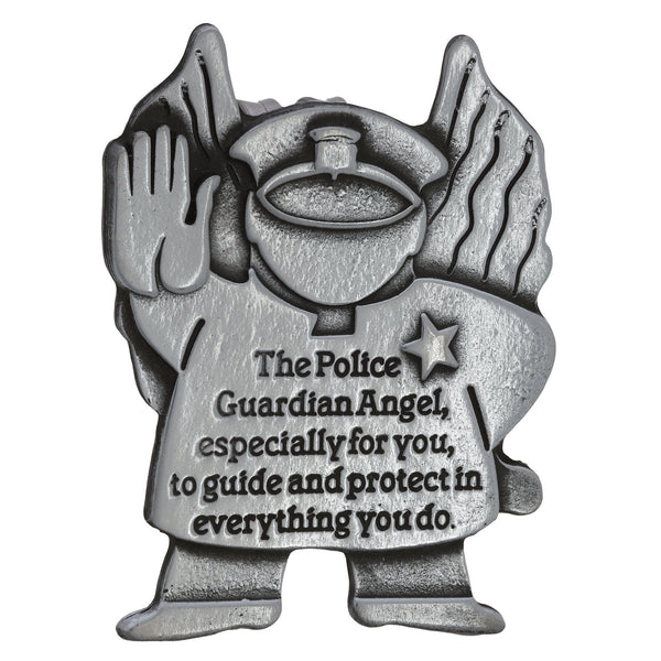 Police Guardian Angel Visor Clip