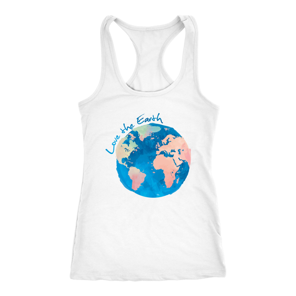 Watercolor Earth Tank Top