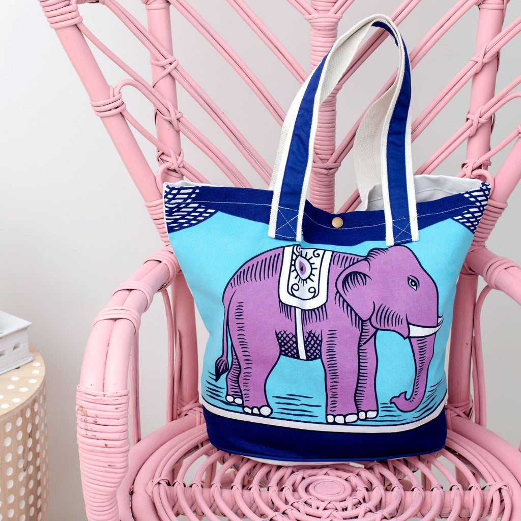 Matchbox Elephant Tote Bag