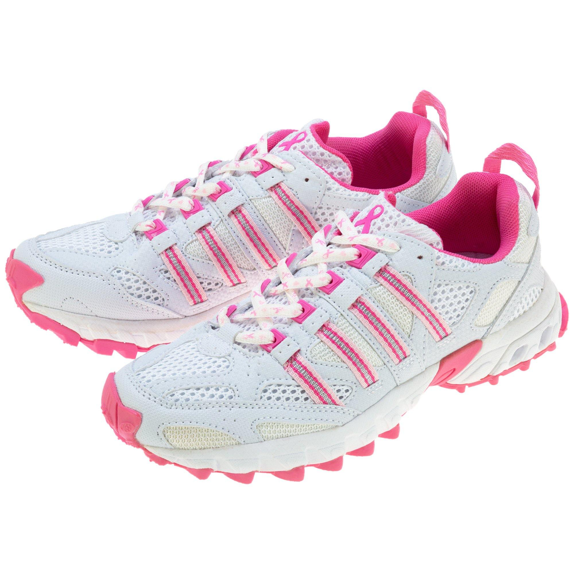 Pink Ribbon Cross Training Shoes For Women Breast Cancer
