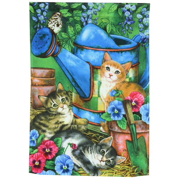 Garden Kitties Garden Flag