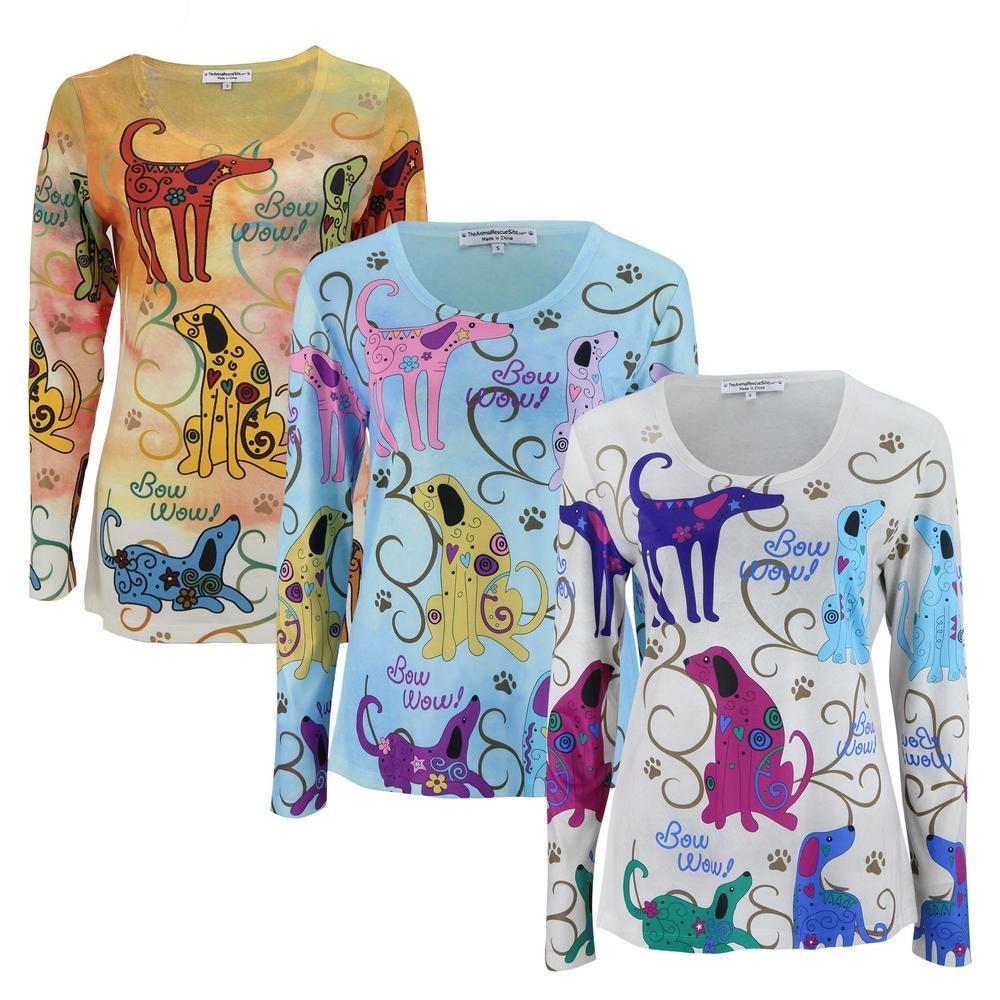 Festival Dogs Long Sleeve Top