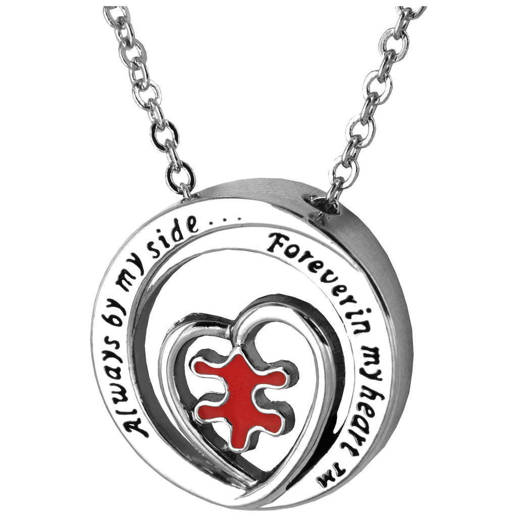 Promo - PROMO - Forever In My Heart™ Puzzle Piece Necklace