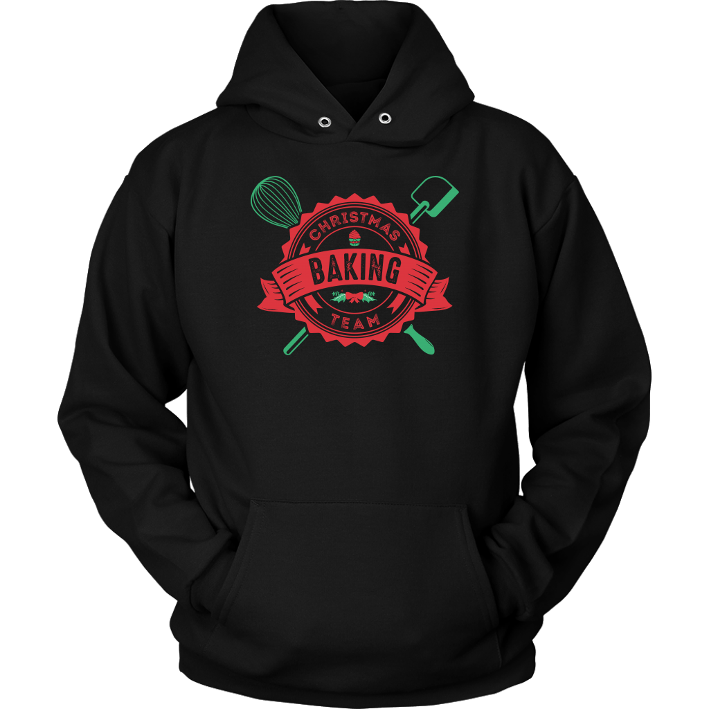 T-shirt - Christmas Baking Team Hooded Sweatshirt