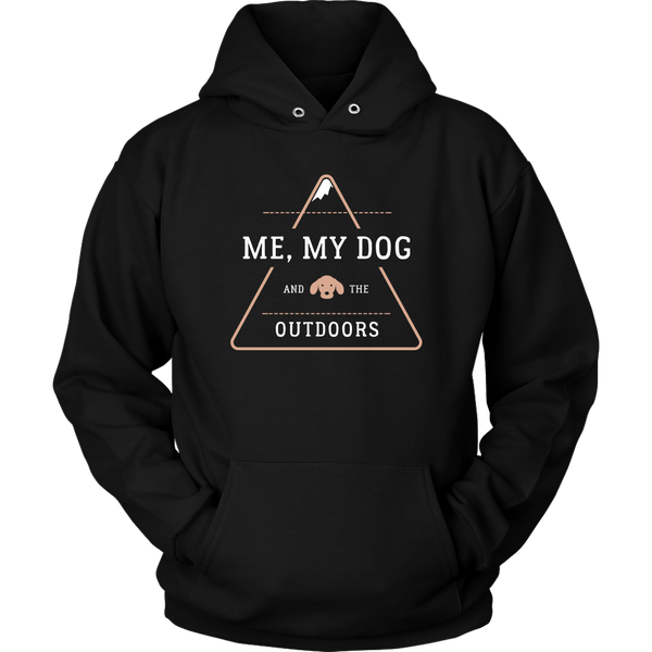 T-shirt - My Dog & The Outdoors Hoodie