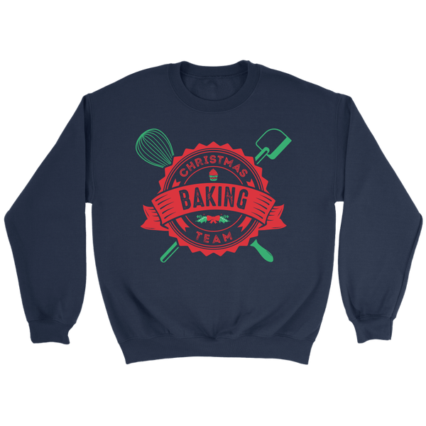 T-shirt - Christmas Baking Team Crewneck Sweatshirt