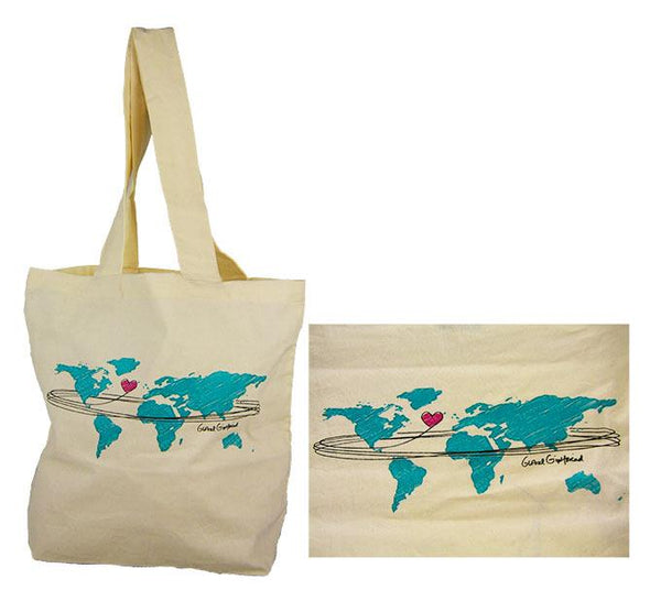 Wrap The World In Love Tote