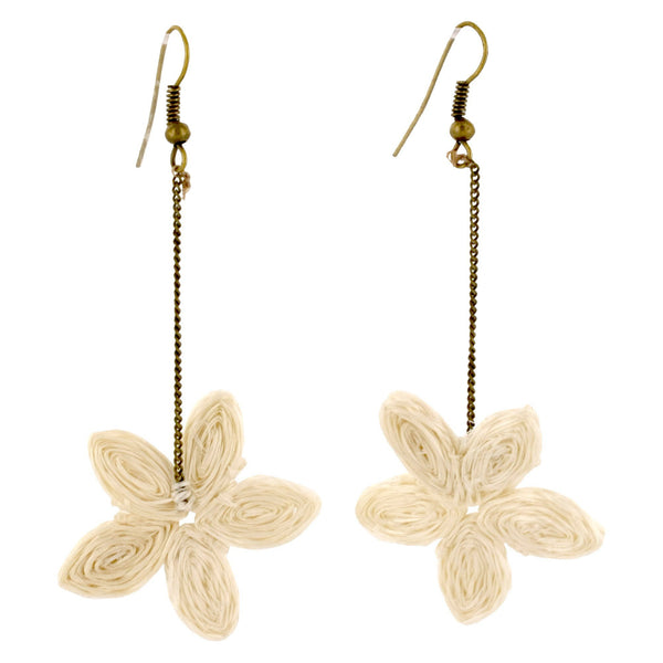 Swazi Starflower Drop Earrings