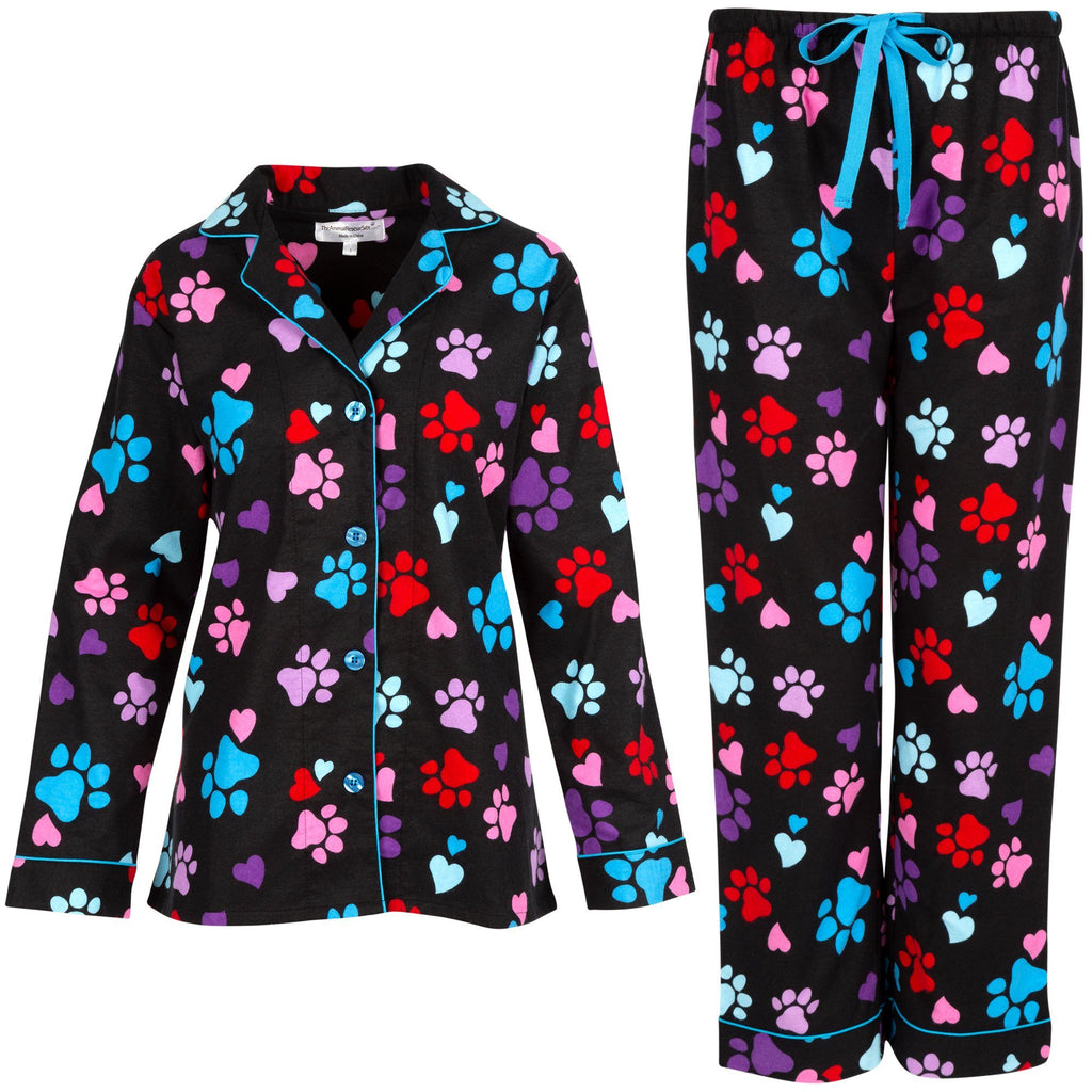 Loving Paws Flannel Pajama Set
