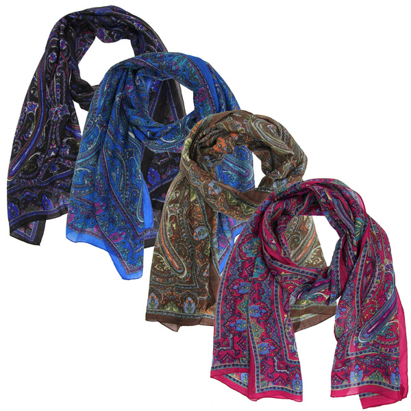 Indian Arches Silk Scarf