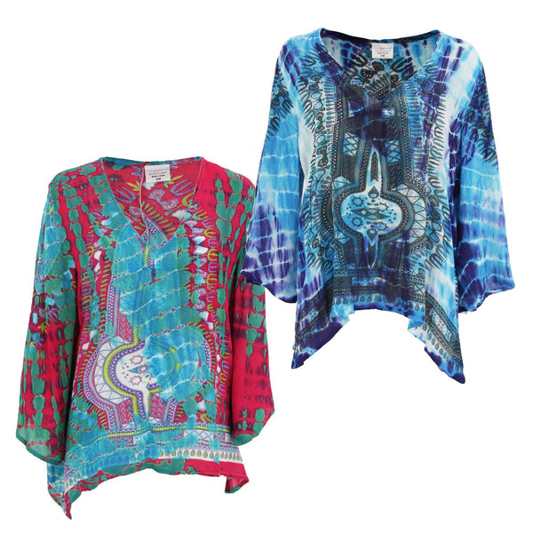 Tie-Dye Spirit Long Sleeve Top