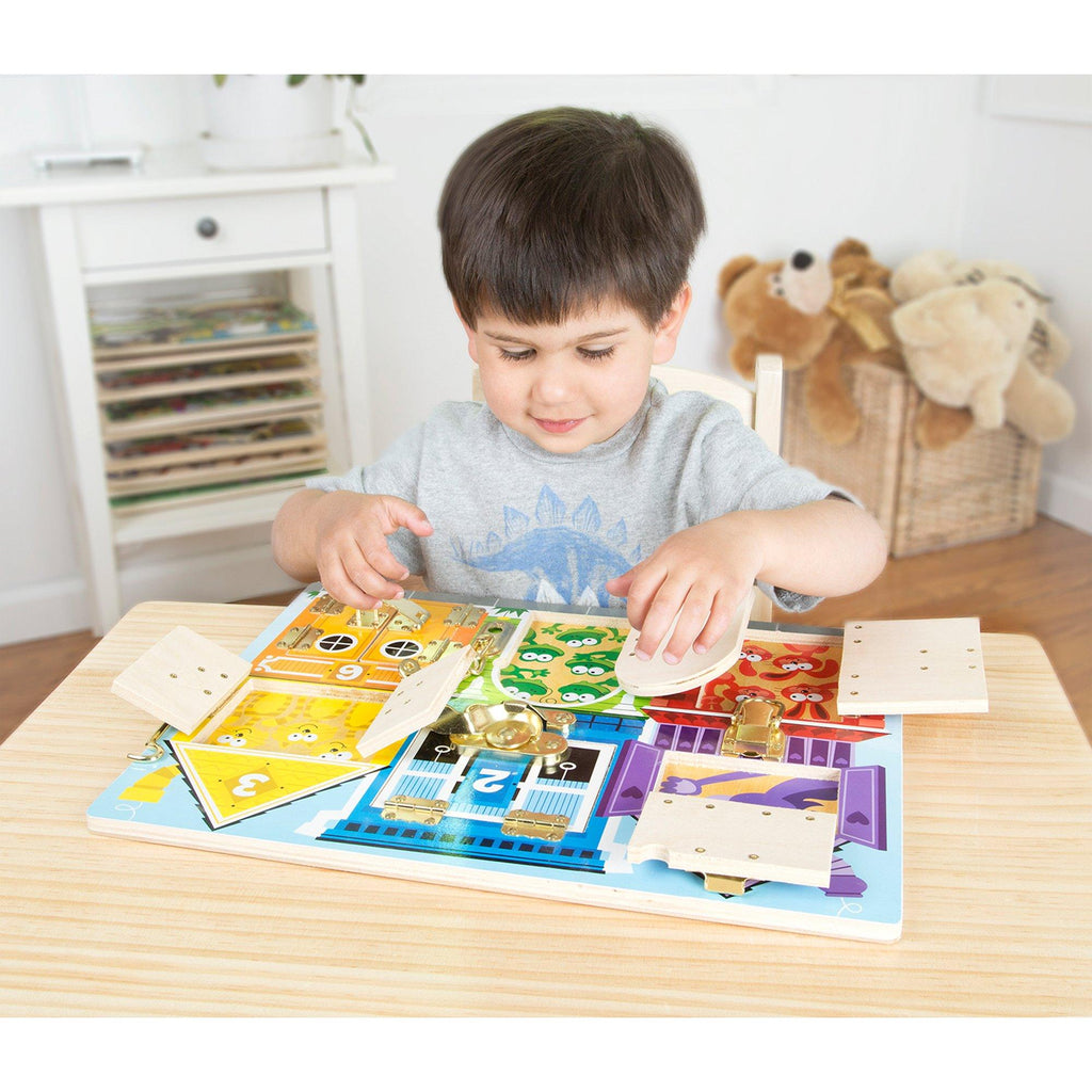 Latches Board Toy
