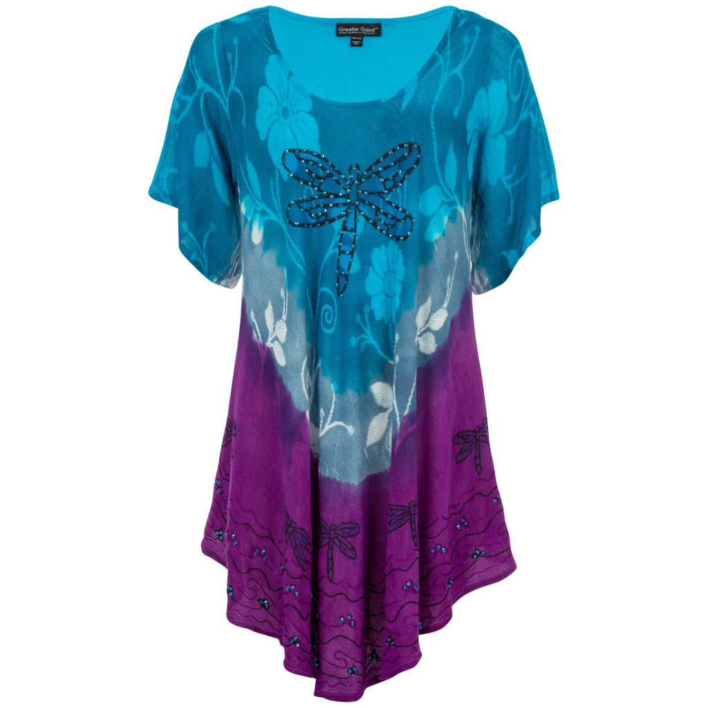 Dragonfly Blues Tunic