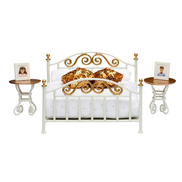 Lundby™ Smaland Bedroom Set With Brass Bed