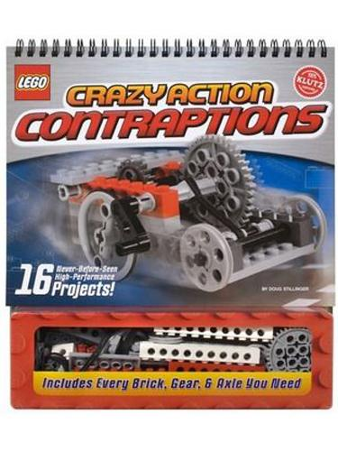 Klutz® LEGO® Crazy Action Contraptions Project Guide