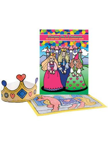 Picture Me Princess Activity Book
