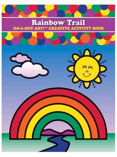 Rainbow Trail Do-A-Dot Creative Activity Book