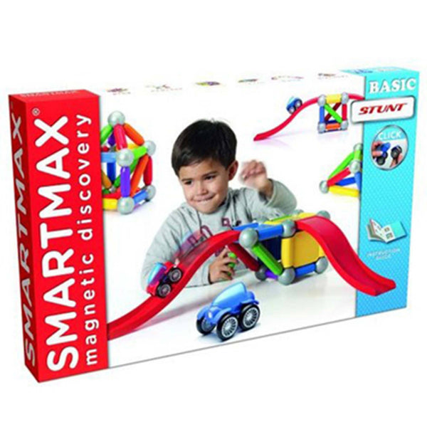SmartMax® Magnetic Discovery Basic Stunt Building Set