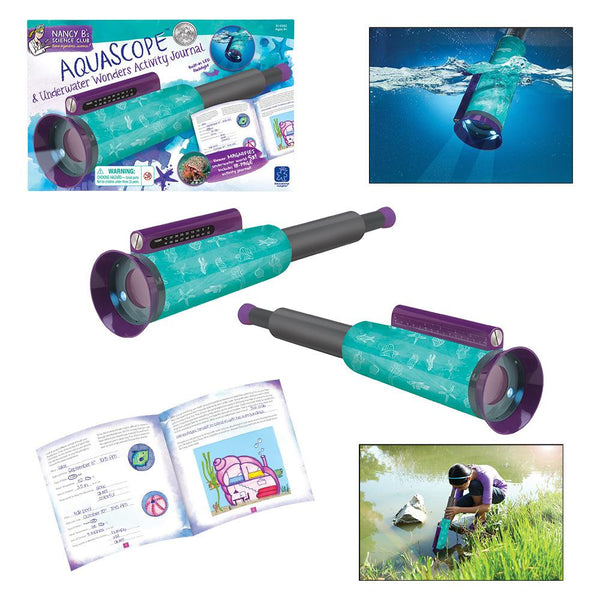 Nancy B's AquaScope™ & Underwater Wonders Activity Journal