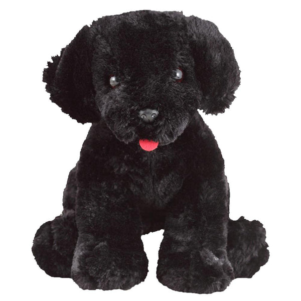 Benson Black Lab Puppy Plush