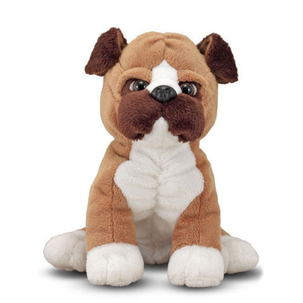 Bentley Boxer Puppy Plush