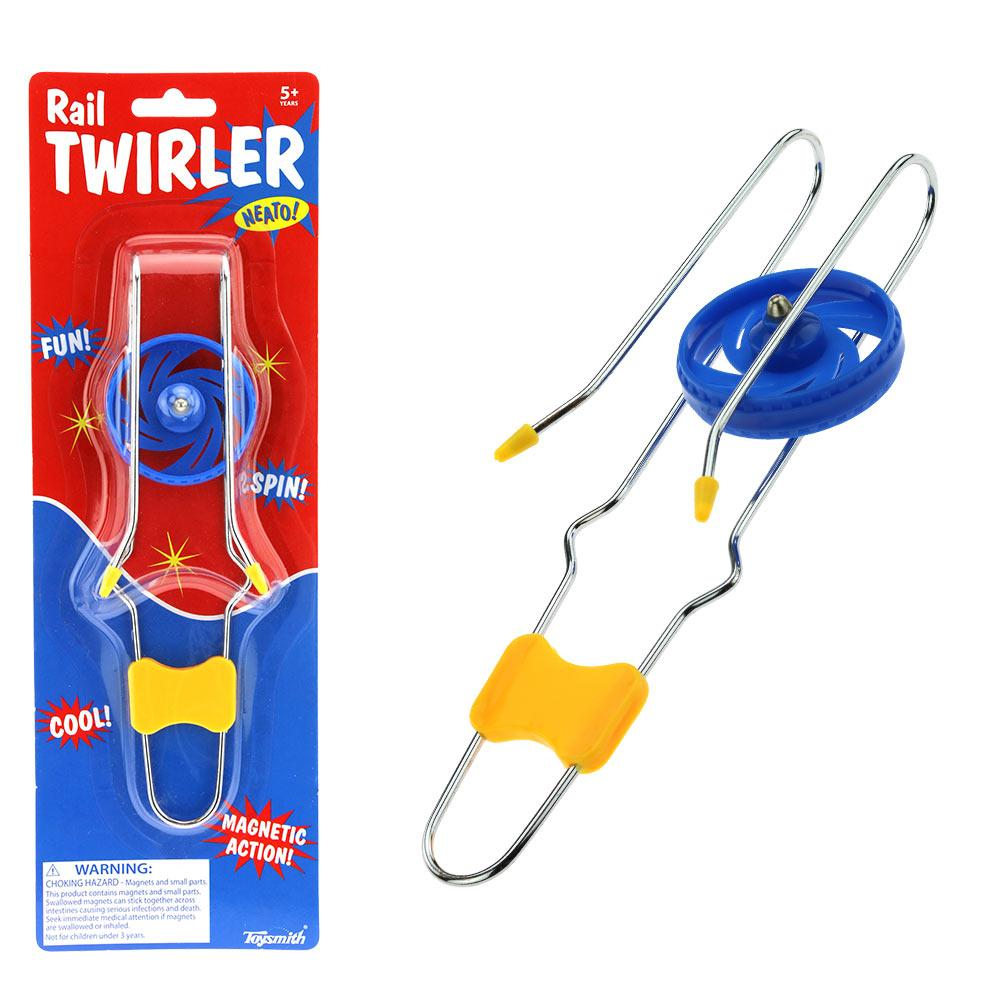 Rail Twirler Magnetic Action Toy