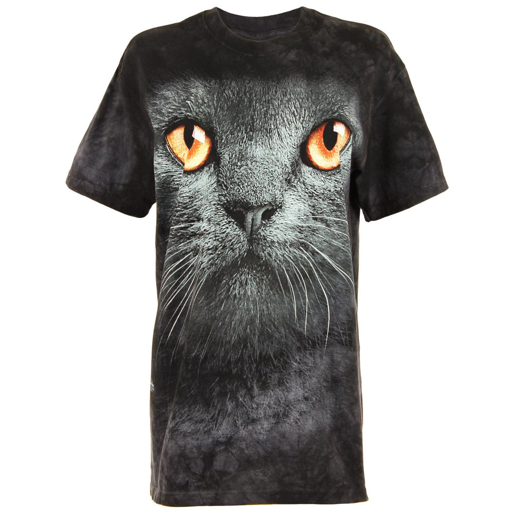 Black Cat Face T-Shirt