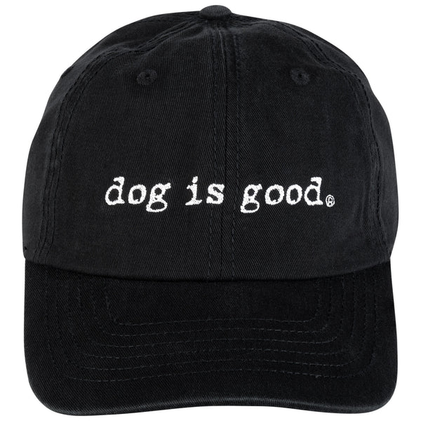 Dog is Good® Varsity Style Baseball Hat