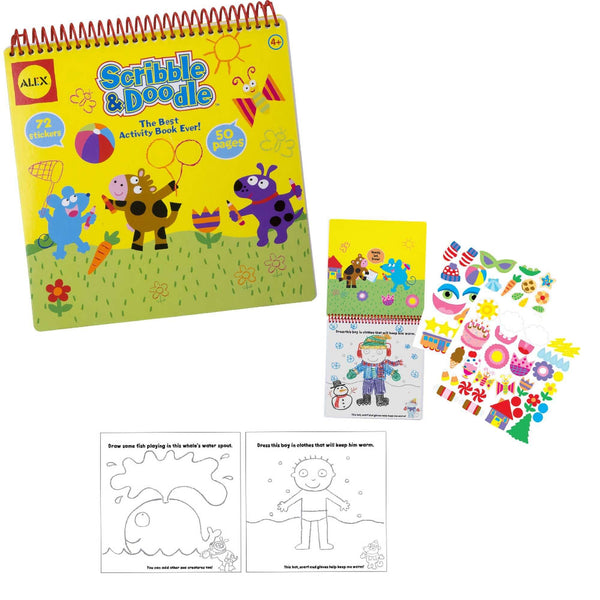 Scribble & Doodle™ Activity Book