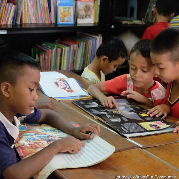 Donation - A Year's Worth Of Books For A Cambodian Child