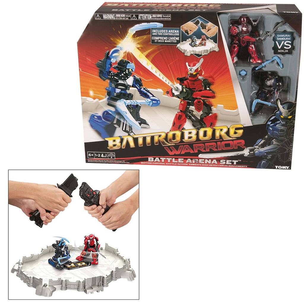 Battroborg Warrior Battle Arena Set - Samurai Vs. Ninja