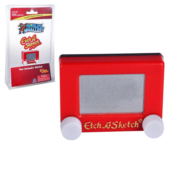 World's Smallest™ Etch A Sketch®