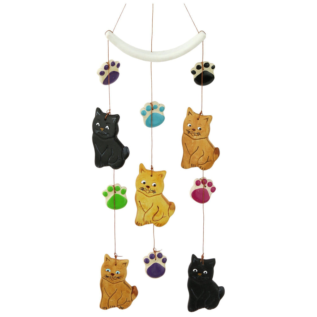 Pets & Paws Ceramic Chime