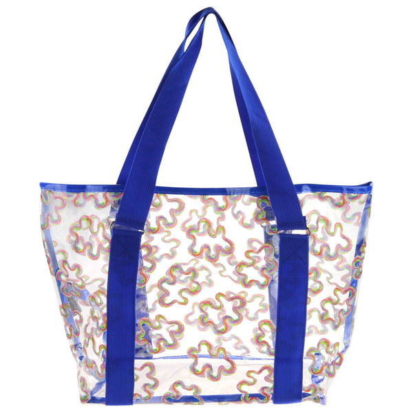 Puzzle Piece Clear Tote Bag