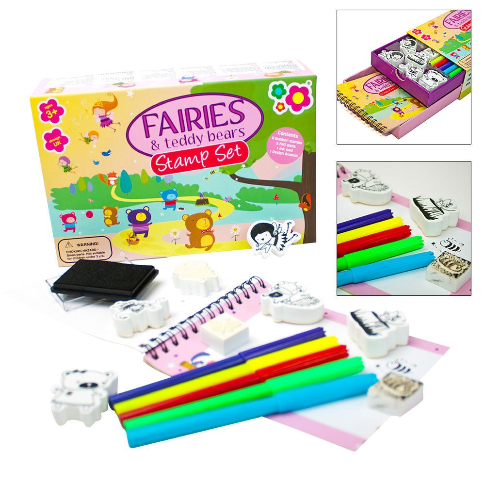 Fairies & Teddy Bears Mini Stamp Set