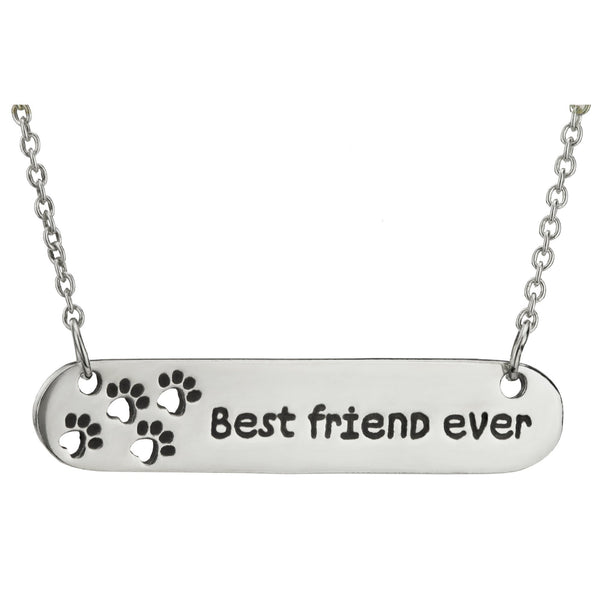 Best Friend Ever Sterling Necklace