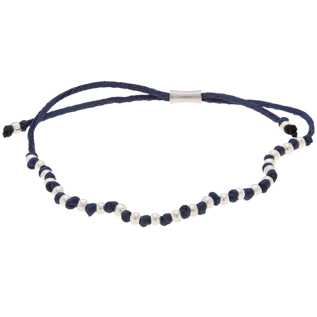 Promo - PROMO - Blue Wakami Simple Stackable Bracelet