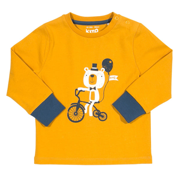 Kite Kids Tricycle Bear Long Sleeve T-Shirt