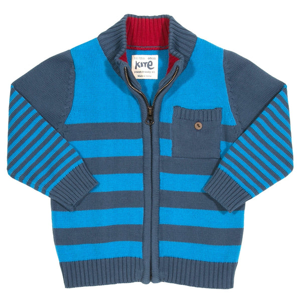Kite Kids Stripy Knitted Cardi